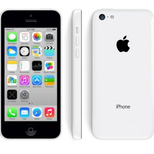 iPhone 5C blanc reconditionné, remis à neuf