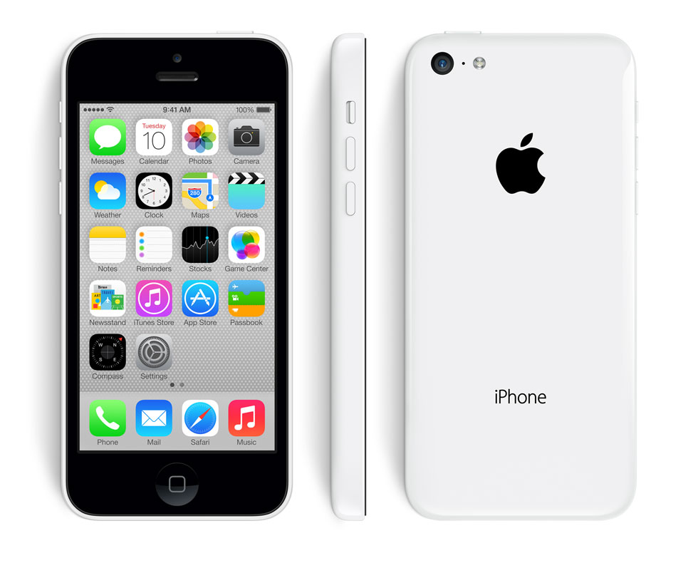 iPhone 5C 16GO blanc reconditionné