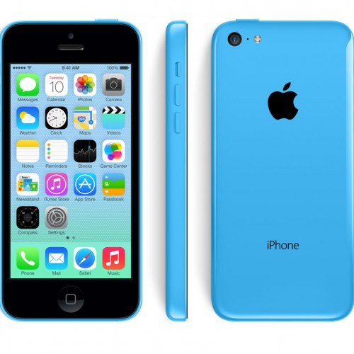 iPhone 5C 16 GO Bleu reconditionné