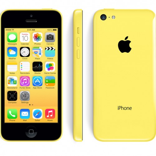 iPhone 5C 16GO jaune reconditionné