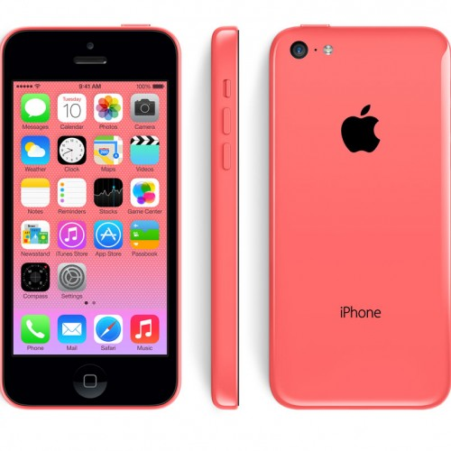iPhone 5C 16GO rose reconditionné