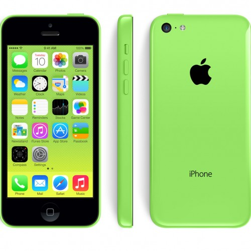 iPhone 5C 16GO vert reconditionné